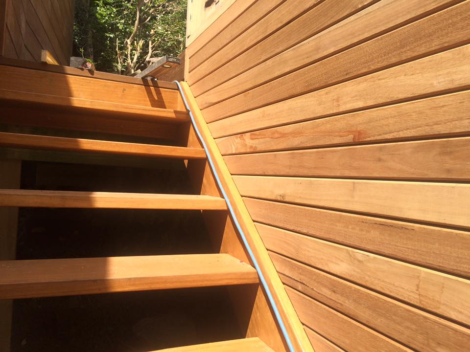 Millboard composite decking stairs in Bellevue Hill, Sydney