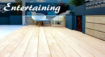 Millboard Entertaining Area Decking - Maintenance Free Decking