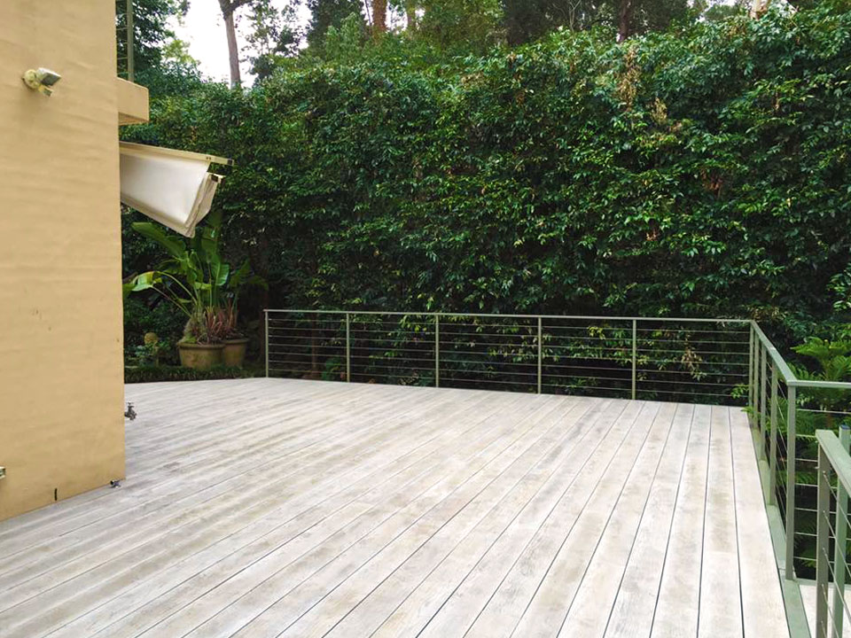 beautiful millboard deck in nature roseville sydney. Black Bedroom Furniture Sets. Home Design Ideas