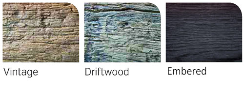 Millboard Decking Weathered Oak colour selector